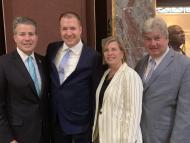 Senator Timilty, Shawn Duhamel, Rep. Decker and Senator Brady