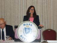 Treasurer Deb Goldberg